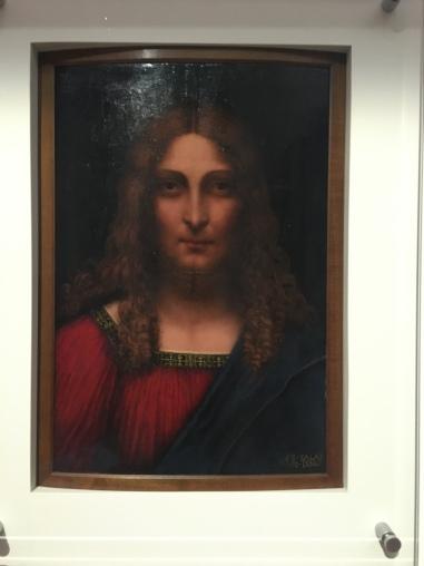 Cabeza de Cristo Redentor. Gian Giacomo Caprotti. Salai