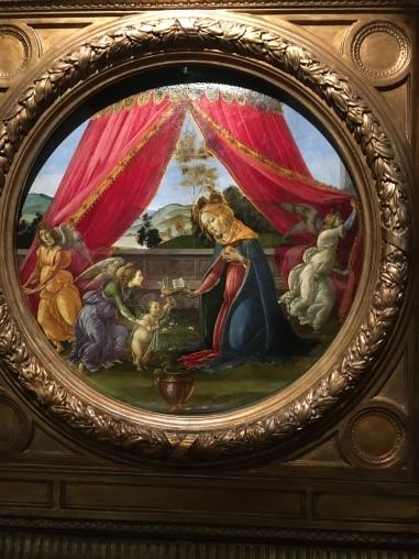 Virgen del Pabellon. Botticelli